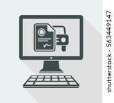automotive online document  ... | Shutterstock .eps vector #563449147