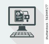 automotive online quote  ... | Shutterstock .eps vector #563449177
