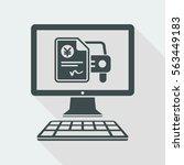 automotive online quote   yen   ... | Shutterstock .eps vector #563449183