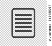 document pictogram icon. simple ...