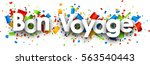 have a nice trip paper banner...   Shutterstock .eps vector #563540443
