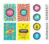 sale website banner templates.... | Shutterstock . vector #563565517