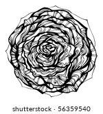 floral design    for vector... | Shutterstock . vector #56359540