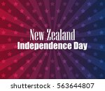 new zealand independence day.... | Shutterstock .eps vector #563644807