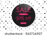 creative poster  banner or...   Shutterstock .eps vector #563716507