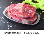 Small photo of Raw veal shank