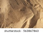 Background Of Yellow Sand