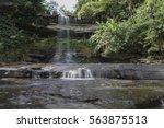 tada ruong chan waterfall in... | Shutterstock . vector #563875513