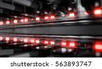 lights and connections on... | Shutterstock . vector #563893747