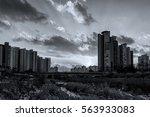 before sunset | Shutterstock . vector #563933083