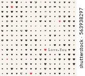 love background. happy... | Shutterstock .eps vector #563938297