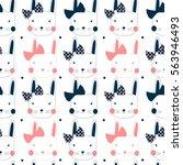 Bunny Pattern  Vector...