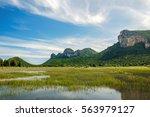 beautiful outdoor landscape of... | Shutterstock . vector #563979127