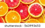 oranges   Shutterstock . vector #563993653