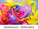 blurred background of abstract... | Shutterstock . vector #564016813