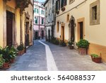 spring streets of the old... | Shutterstock . vector #564088537