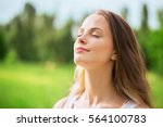 breath. | Shutterstock . vector #564100783