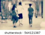 blurred abstract background of... | Shutterstock . vector #564121387