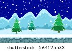 landscape for browser and... | Shutterstock .eps vector #564125533