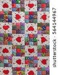 Handmade Patchwork Quilt Flora...