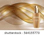 skin toner bottle tube template ...   Shutterstock .eps vector #564155773