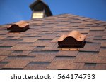 Shingles On The Roof With...