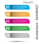 modern design template  can be... | Shutterstock .eps vector #564180427