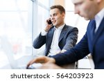 manager at work | Shutterstock . vector #564203923