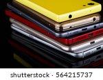 mobile phone wireless... | Shutterstock . vector #564215737