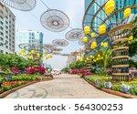 ho chi minh   vietnam   jan 25  ... | Shutterstock . vector #564300253
