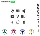 map icons on white background....