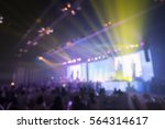 blurred background of event... | Shutterstock . vector #564314617