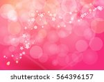 pink bokeh abstract backgrounds.... | Shutterstock .eps vector #564396157