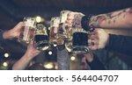 craft beer booze brew alcohol... | Shutterstock . vector #564404707