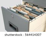 a 3d render closeup view of an... | Shutterstock . vector #564414307