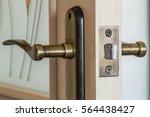 modern  contemporary satin...   Shutterstock . vector #564438427