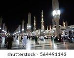 medina  saudi arabia   1... | Shutterstock . vector #564491143