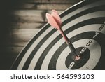 bullseye is a target of... | Shutterstock . vector #564593203