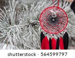 Red Black Dreamcatcher With...