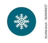 snowflake icon | Shutterstock .eps vector #564640657