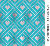 seamless pattern on the theme... | Shutterstock .eps vector #564657607
