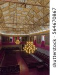 Small photo of COIMBRA, PORTUGAL - JUNE 8: Great Hall of Acts at University of Coimbra in Portugal on June 8, 2016. Coimbra is the largest city of the district of Coimbra, the Centro region.