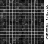 black mosaic marble tile... | Shutterstock . vector #564672127