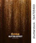 magic glitter background in... | Shutterstock .eps vector #564705403