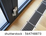 heating grid with ventilation...   Shutterstock . vector #564748873