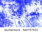 abstract blue wall texture and... | Shutterstock . vector #564757423