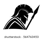 spartan sign. | Shutterstock .eps vector #564763453