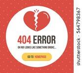 Concept 404 Error Page Vector...