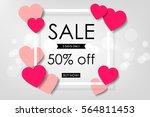 creative poster  banner or... | Shutterstock .eps vector #564811453