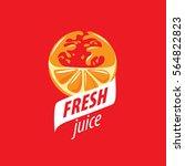 juice splash vector sign   Shutterstock .eps vector #564822823
